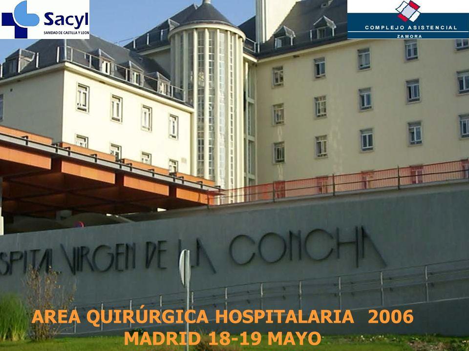 AREA QUIRÚRGICA HOSPITALARIA 2006