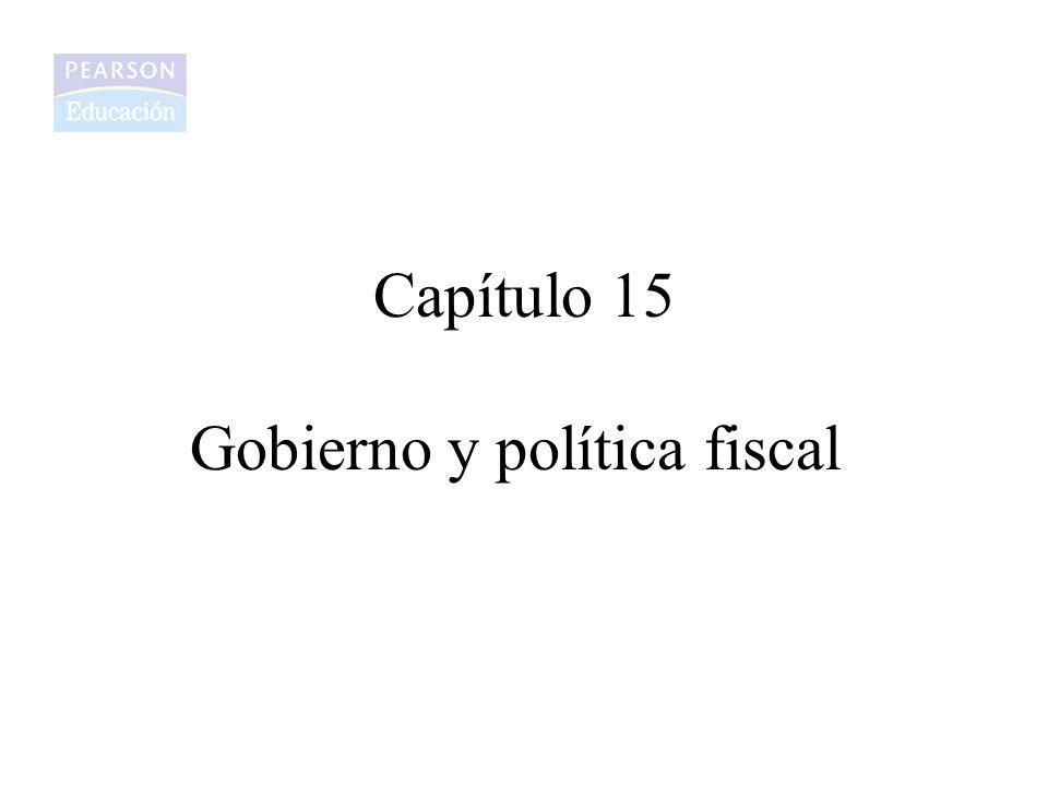 Gobierno y política fiscal