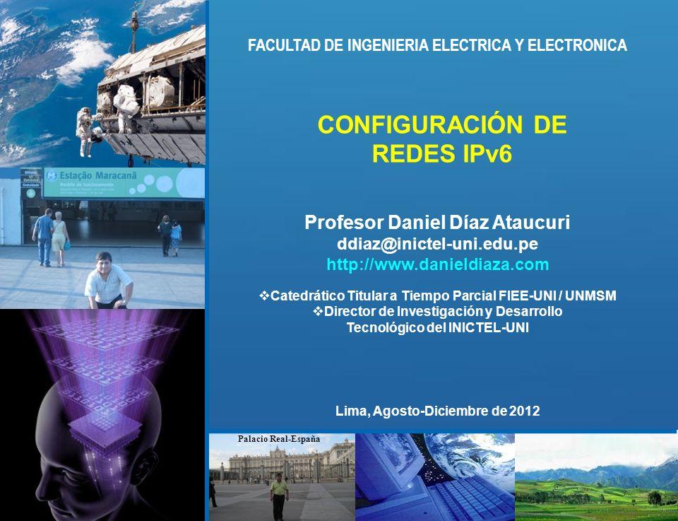 CONFIGURACIÓN DE REDES IPv6