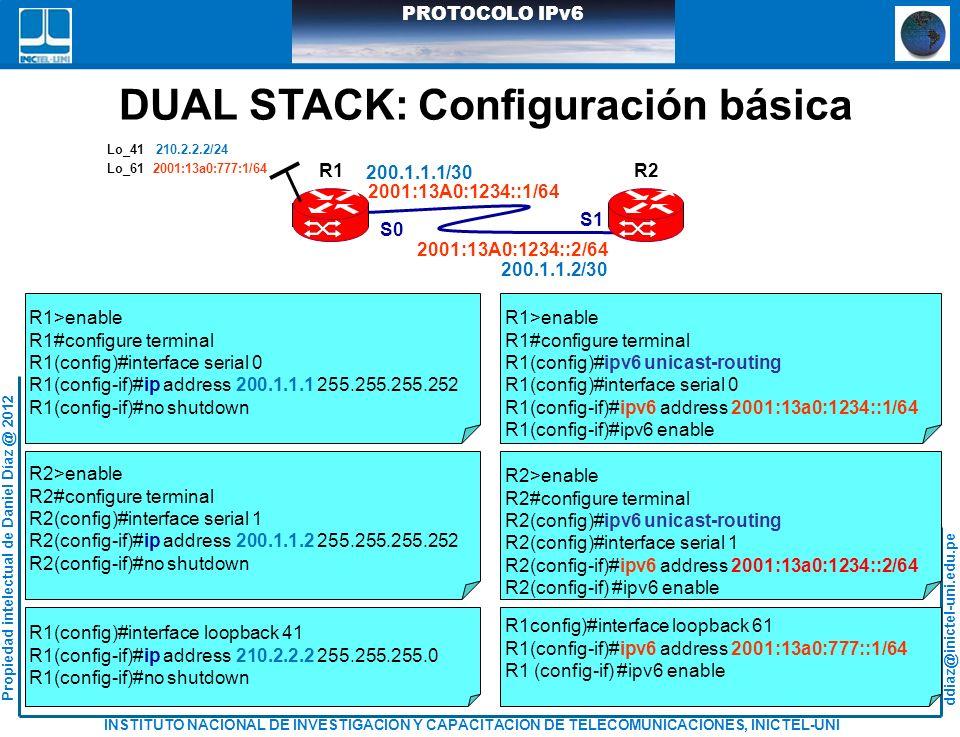 DUAL STACK: Configuración básica