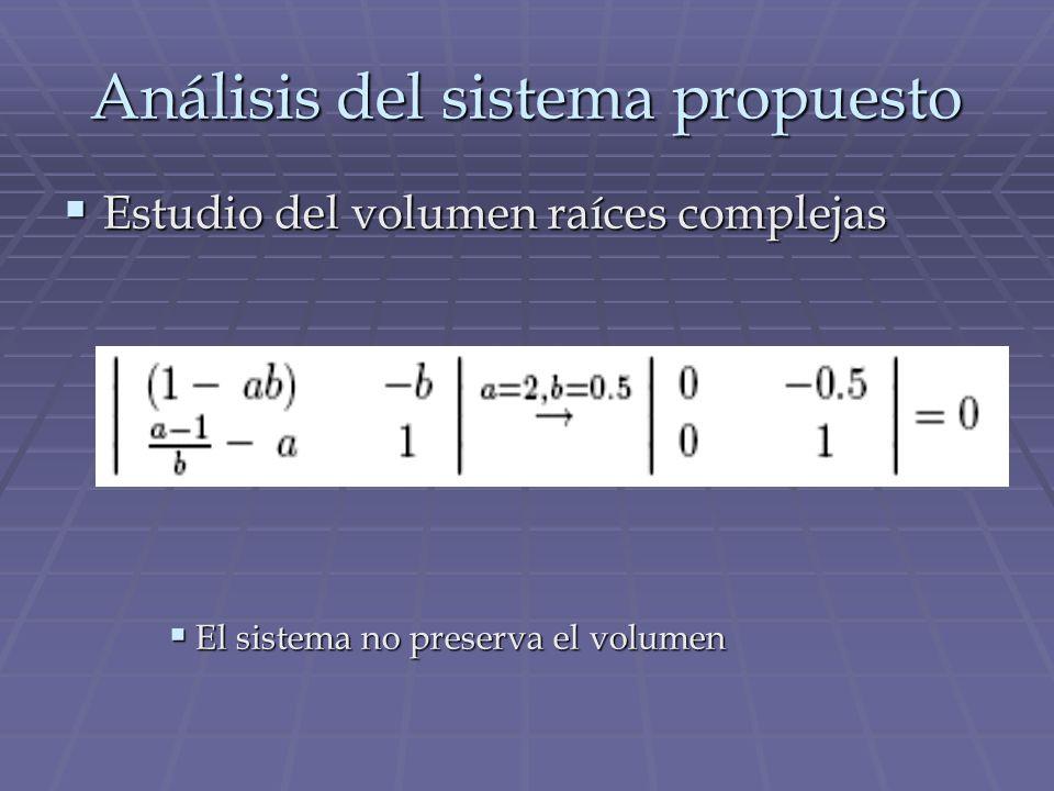 Análisis del sistema propuesto