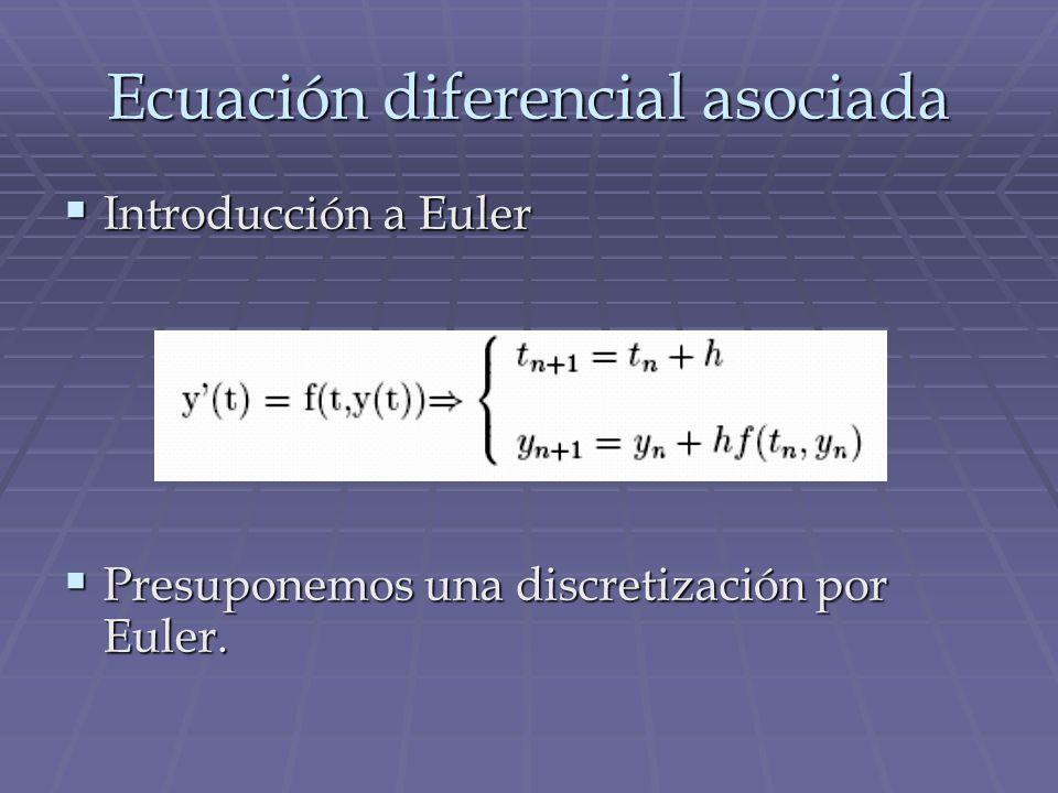 Ecuación diferencial asociada