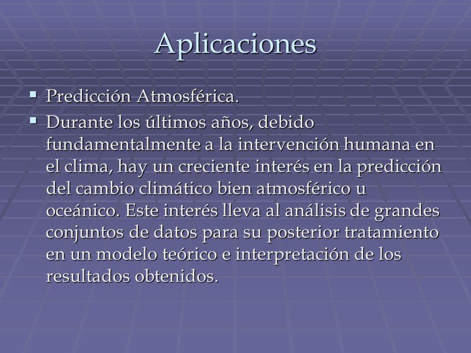 Aplicaciones Predicción Atmosférica.