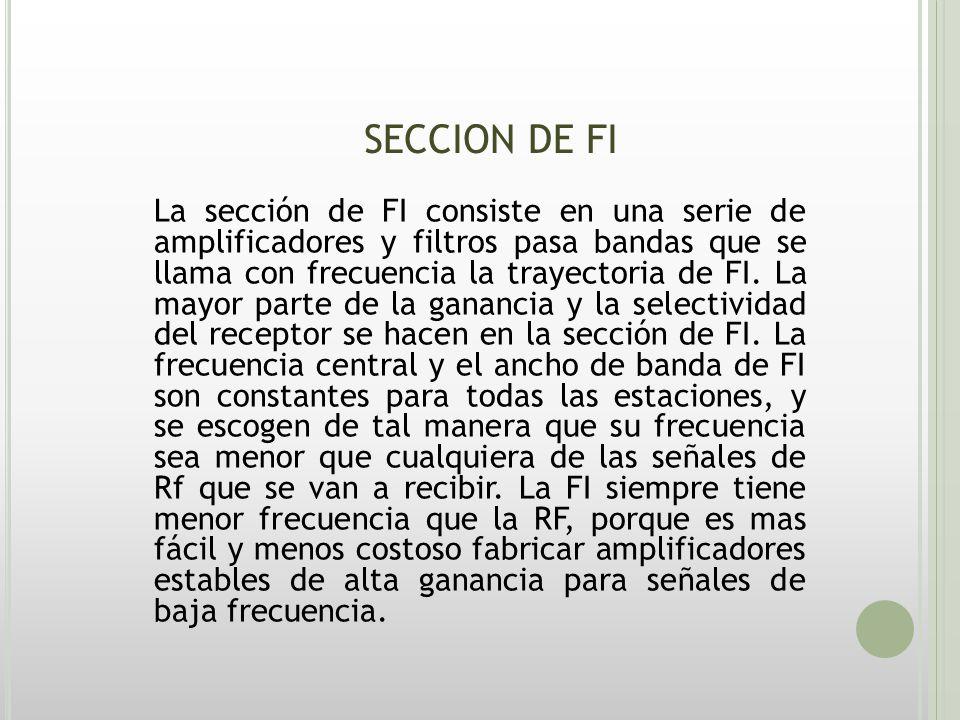 SECCION DE FI