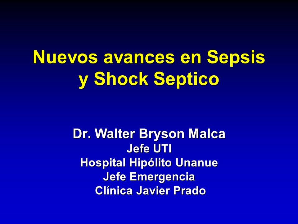 Nuevos avances en Sepsis y Shock Septico