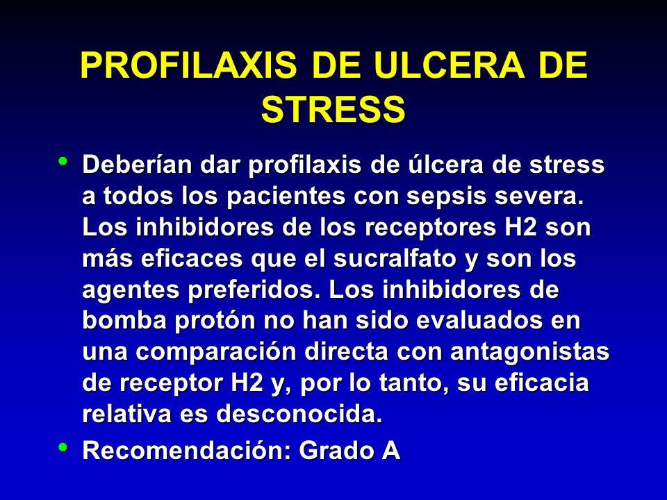 PROFILAXIS DE ULCERA DE STRESS