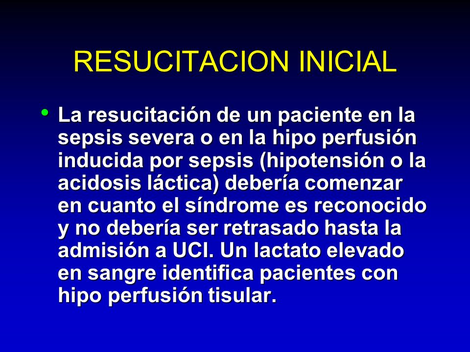 RESUCITACION INICIAL