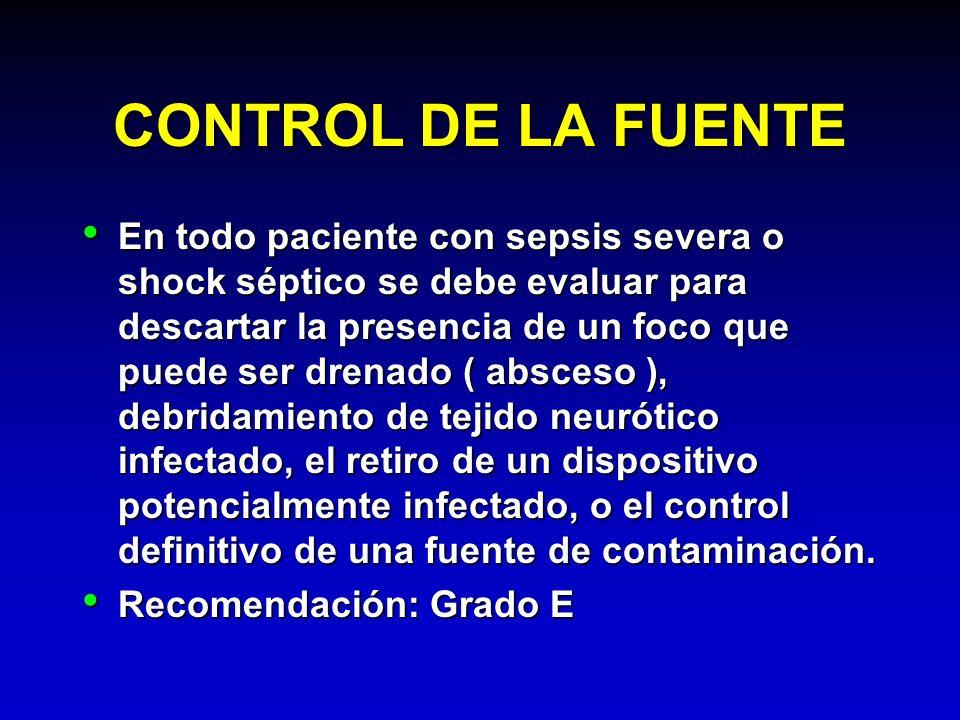 CONTROL DE LA FUENTE