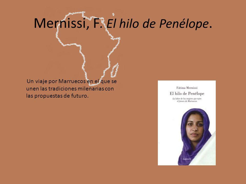 Mernissi, F. El hilo de Penélope.