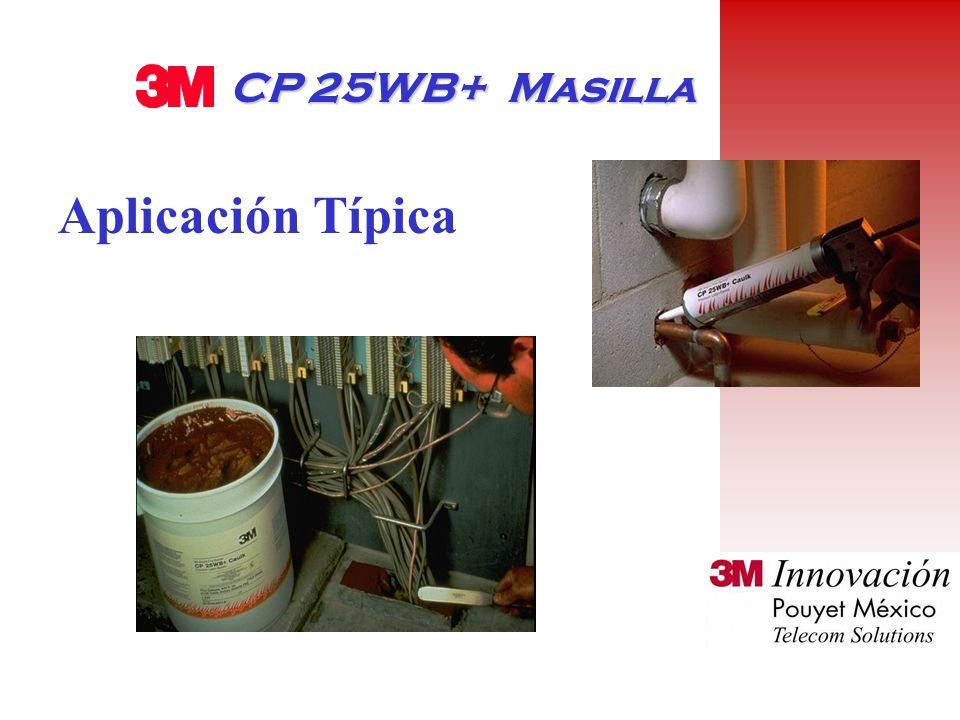 CP 25WB+ Masilla Aplicación Típica