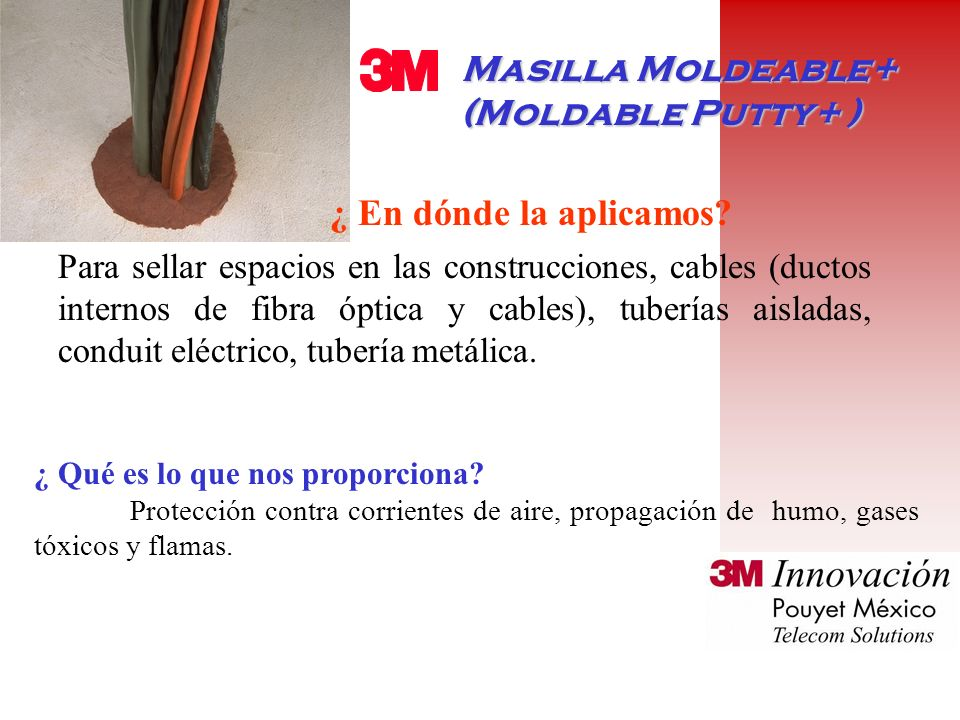 Masilla Moldeable+ (Moldable Putty+ )