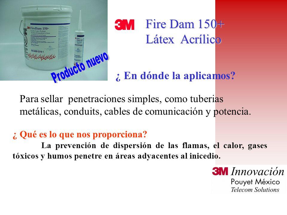 Fire Dam 150+ Látex Acrílico ¿ En dónde la aplicamos