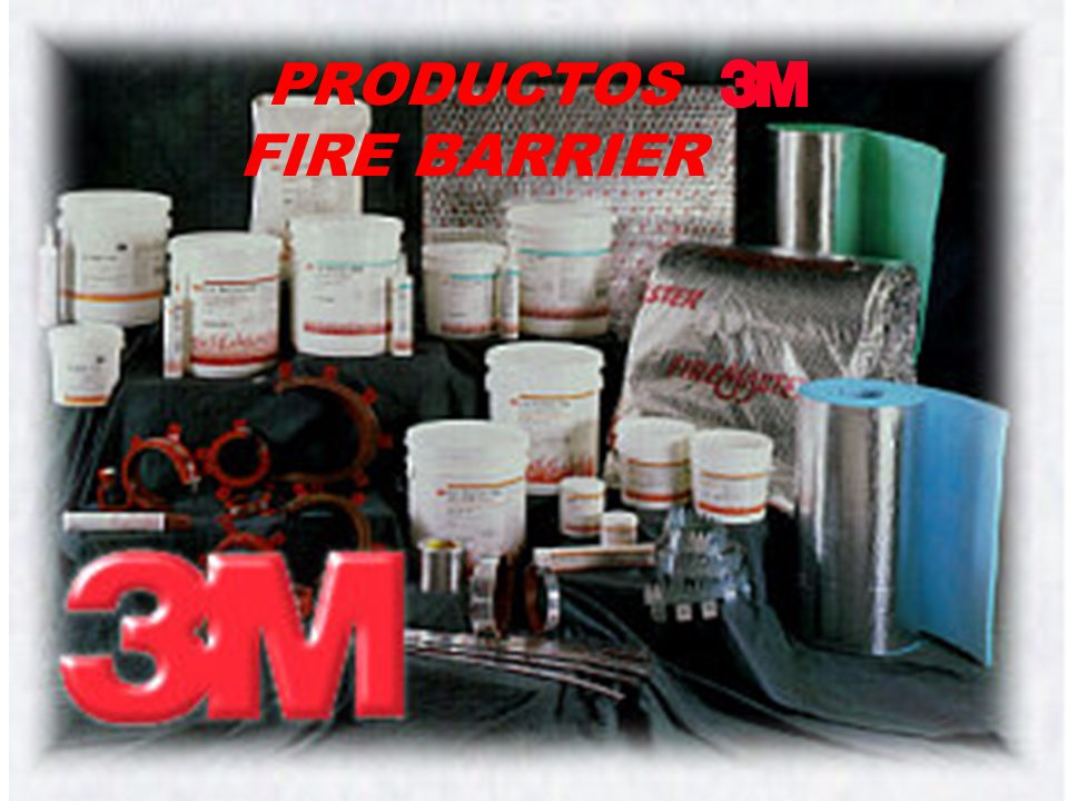 PRODUCTOS FIRE BARRIER