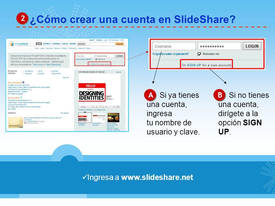 Ingresa a www.slideshare.net