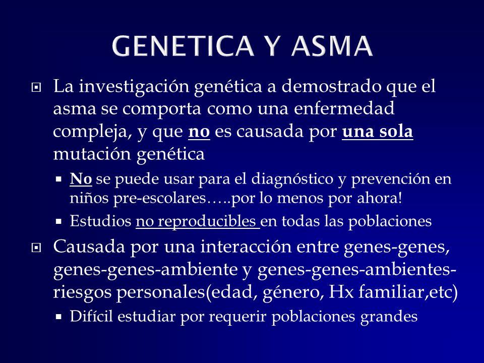GENETICA Y ASMA