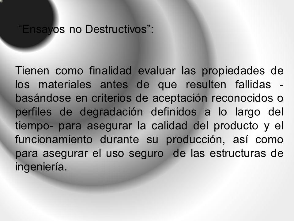 Ensayos no Destructivos :