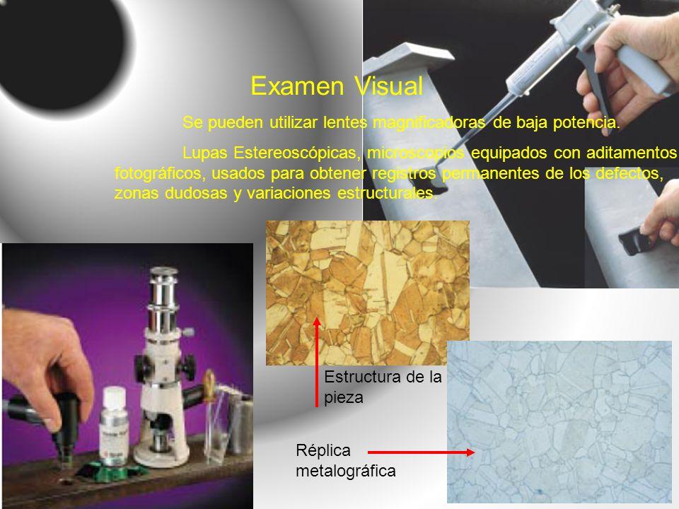 Examen Visual Se pueden utilizar lentes magnificadoras de baja potencia.