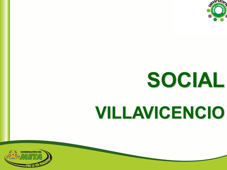 SOCIAL VILLAVICENCIO