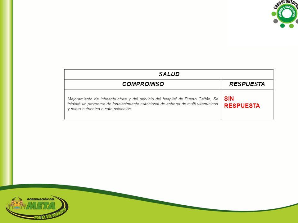 SALUD COMPROMISO RESPUESTA