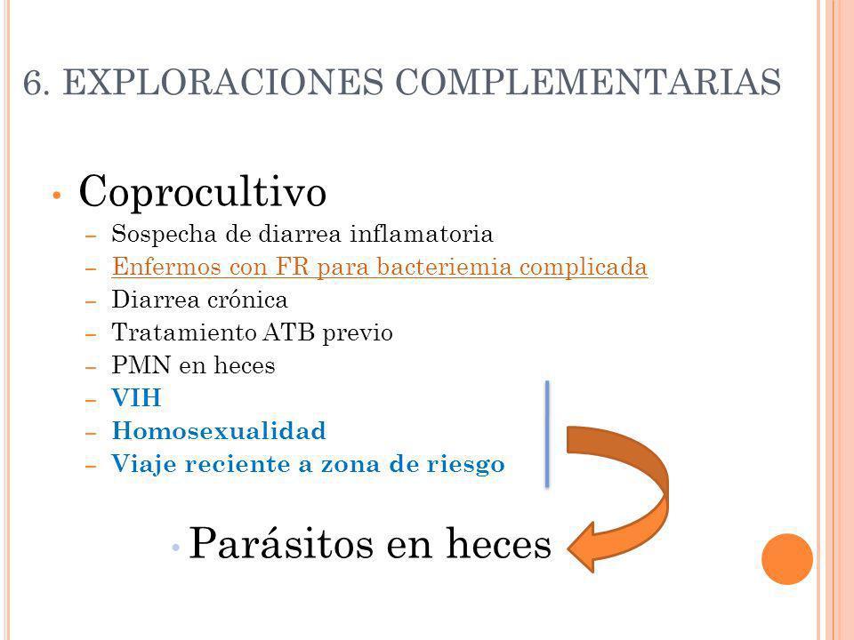 6. EXPLORACIONES COMPLEMENTARIAS