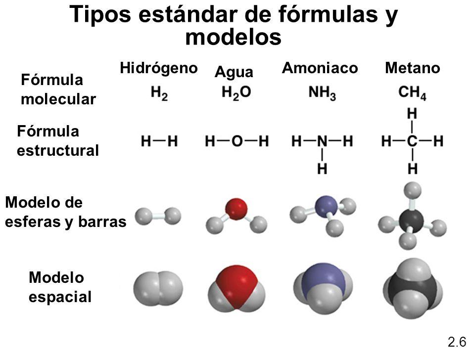 Tipos estándar de fórmulas y modelos