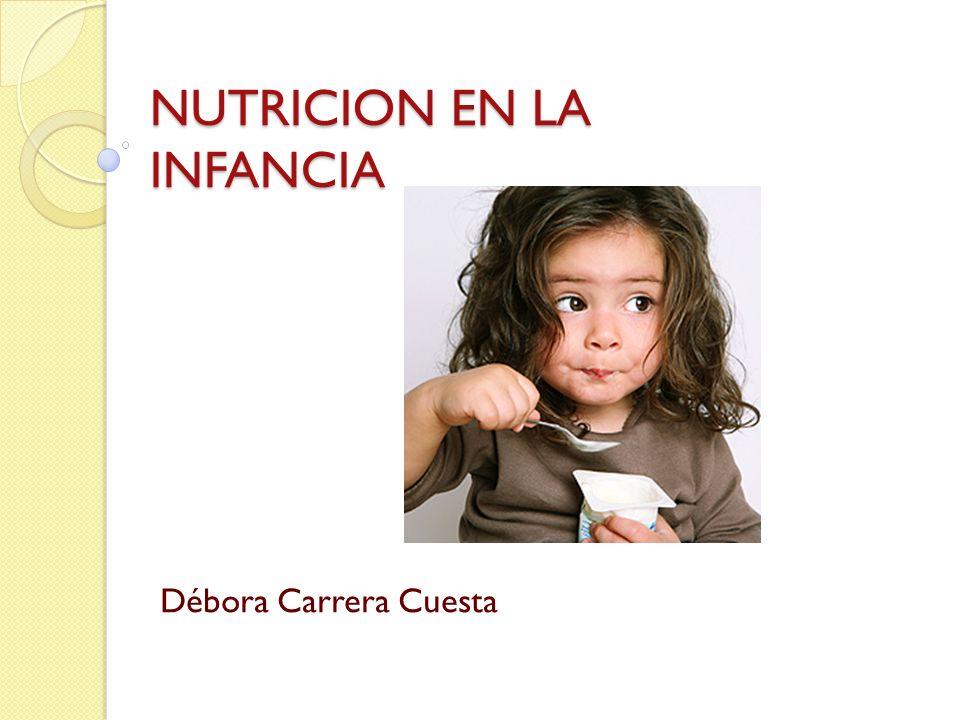 NUTRICION EN LA INFANCIA