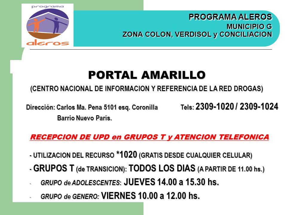 (CENTRO NACIONAL DE INFORMACION Y REFERENCIA DE LA RED DROGAS)
