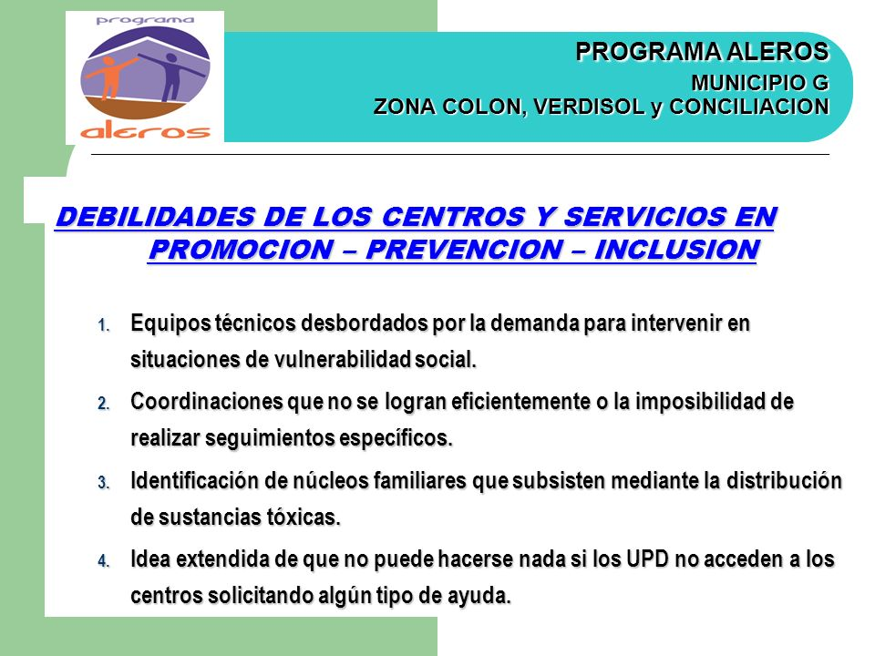 PROMOCION – PREVENCION – INCLUSION