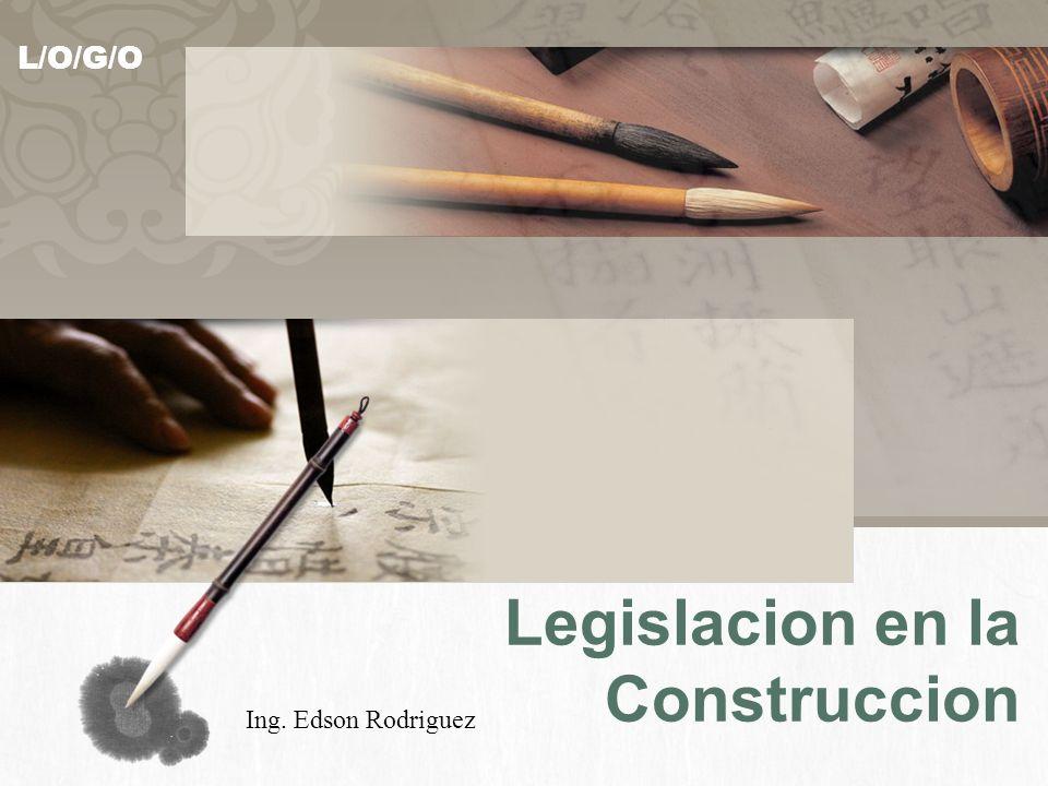 Legislacion en la Construccion