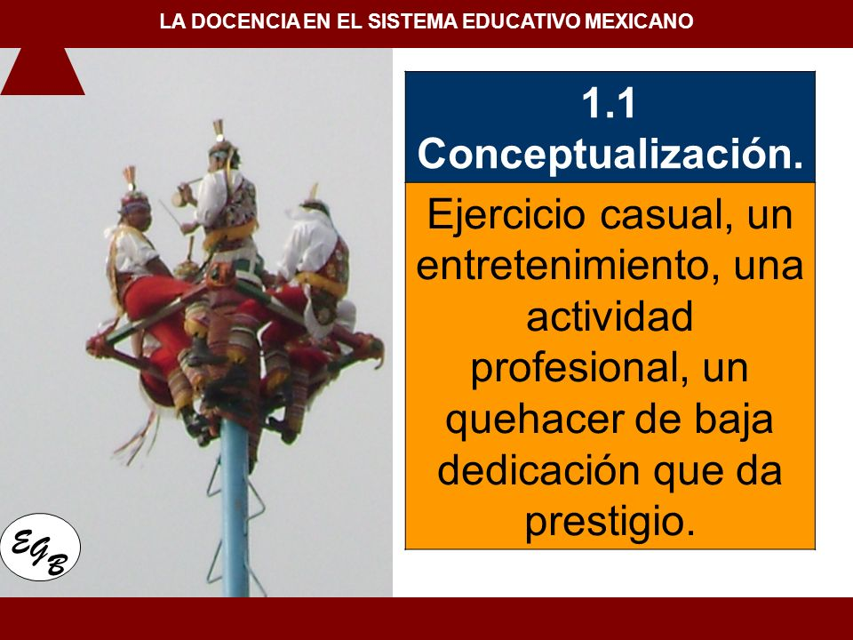LA DOCENCIA EN EL SISTEMA EDUCATIVO MEXICANO