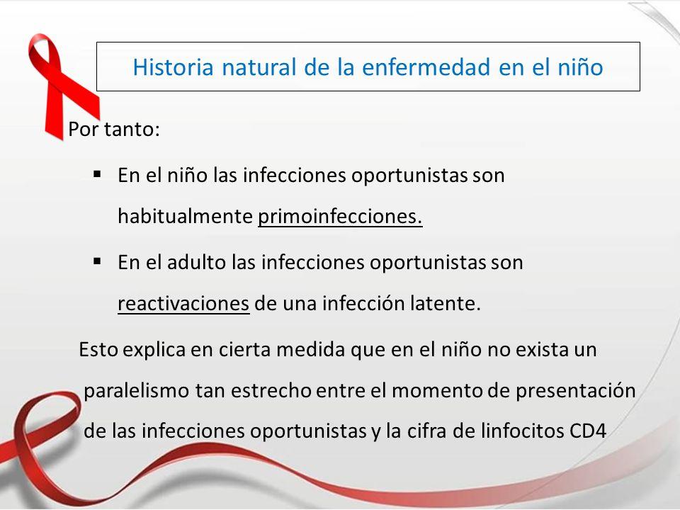 Historia natural de la enfermedad en el niño