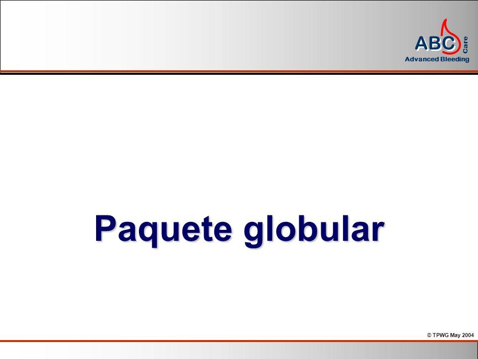Paquete globular