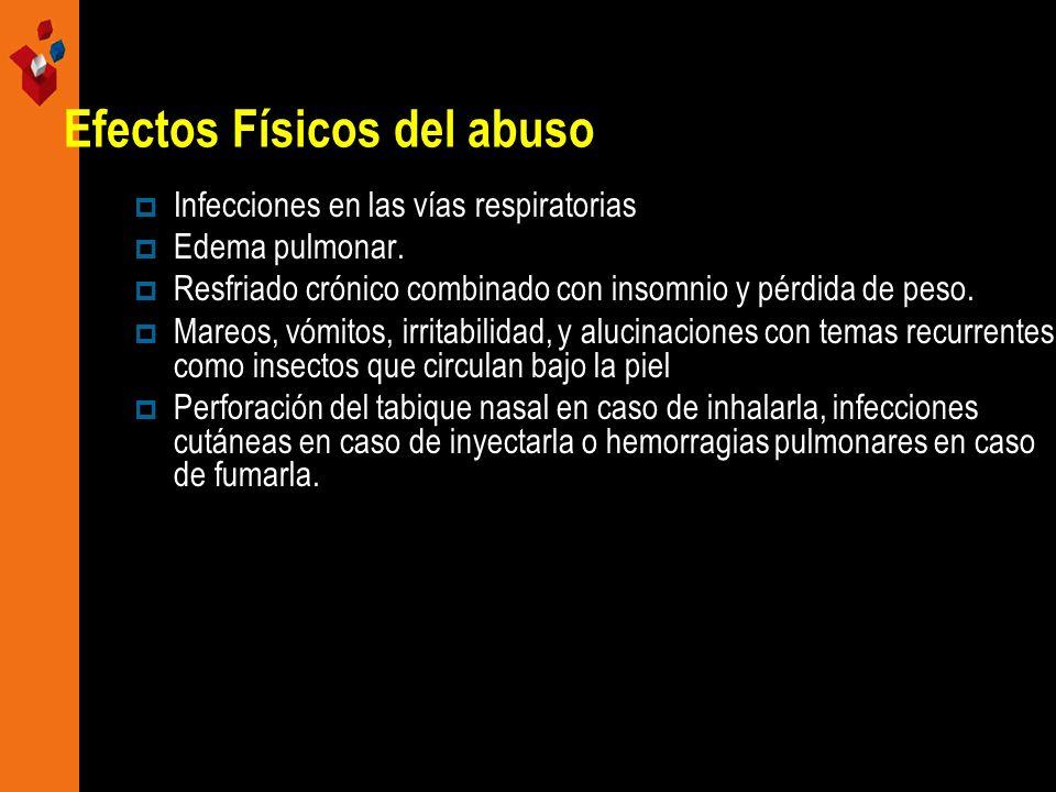Efectos Físicos del abuso
