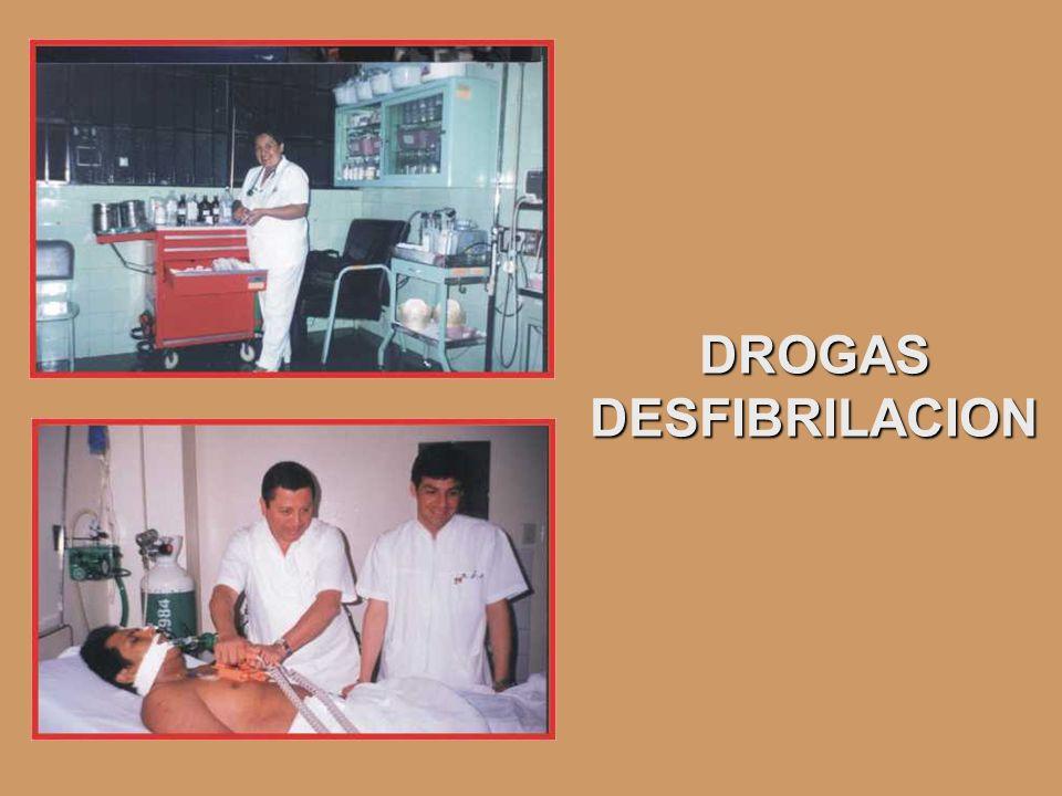DROGAS DESFIBRILACION