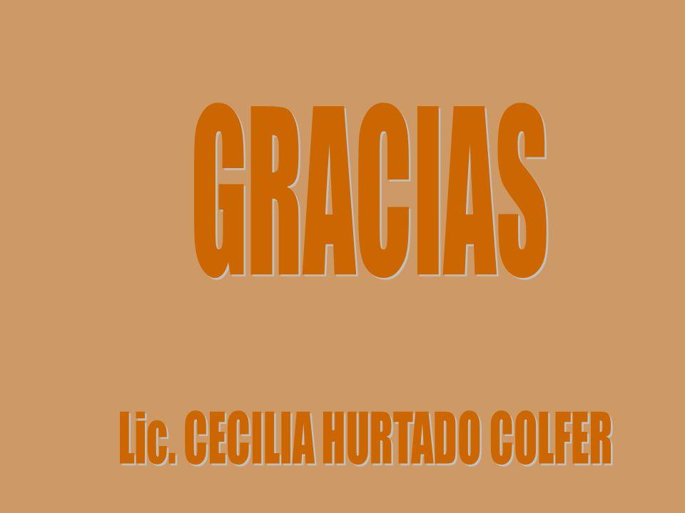 Lic. CECILIA HURTADO COLFER
