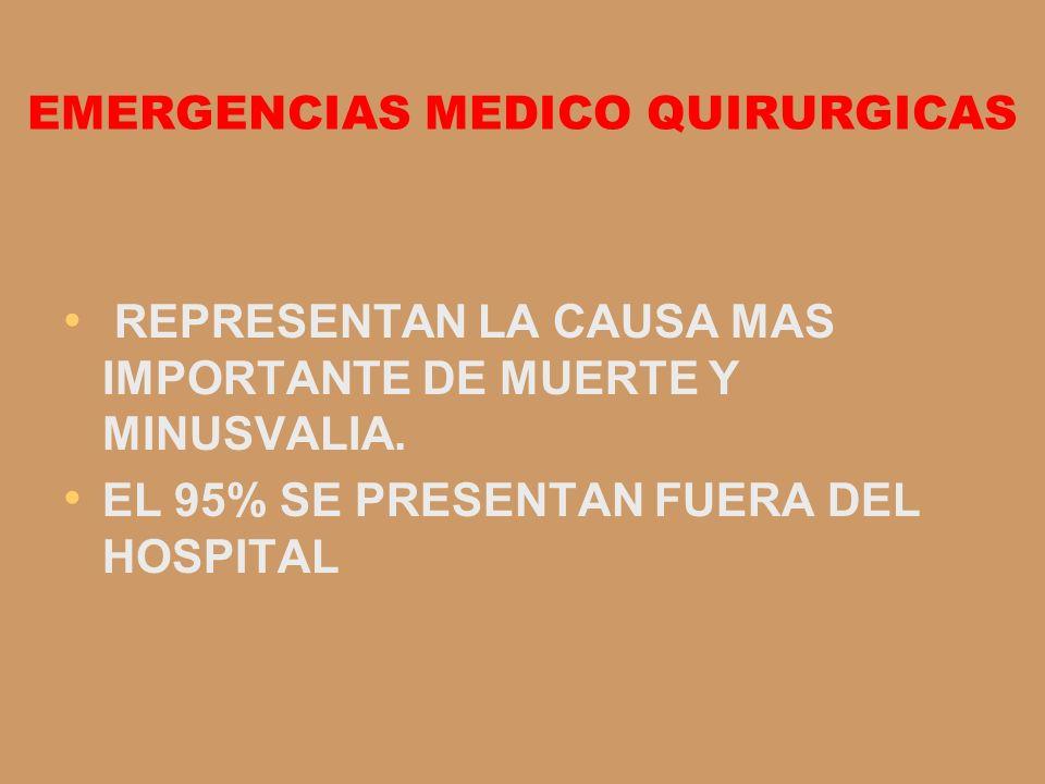 EMERGENCIAS MEDICO QUIRURGICAS
