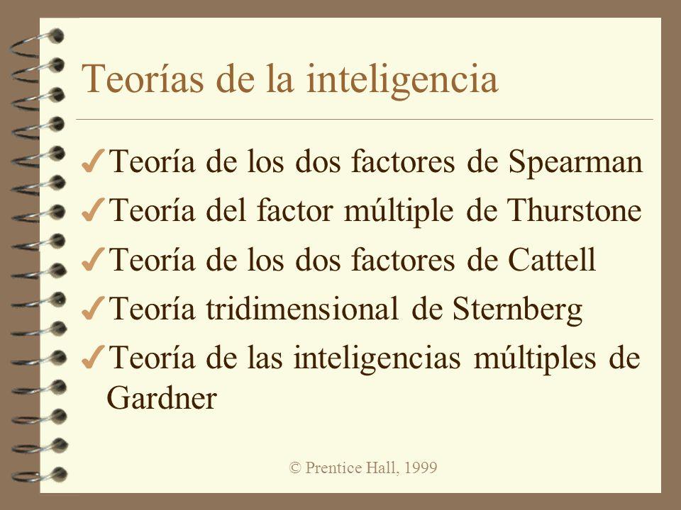 Teorías de la inteligencia