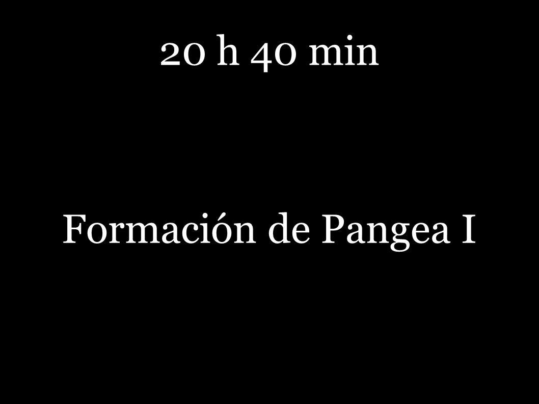 20 h 40 min Formación de Pangea I