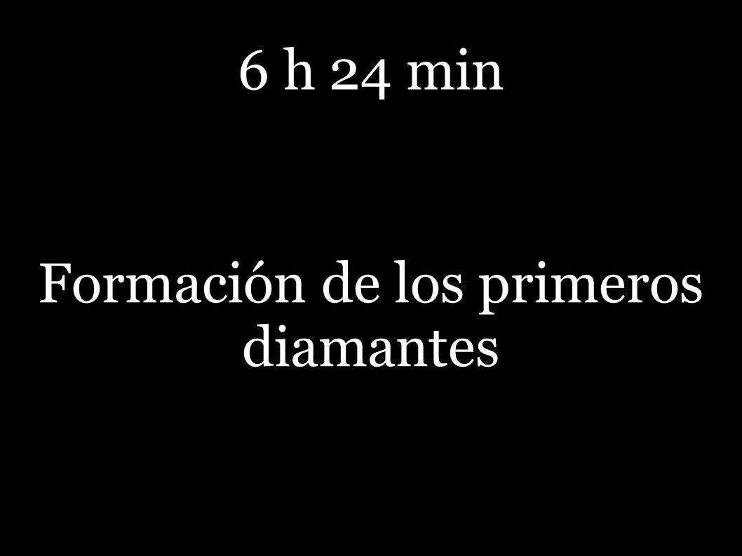 Formación de los primeros diamantes