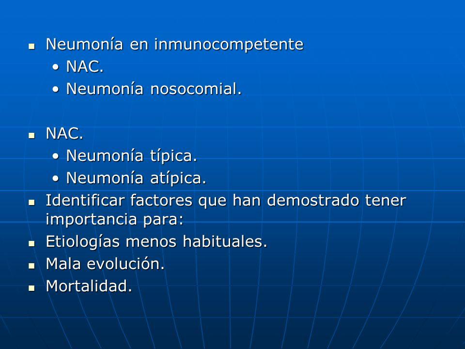 Neumonía en inmunocompetente