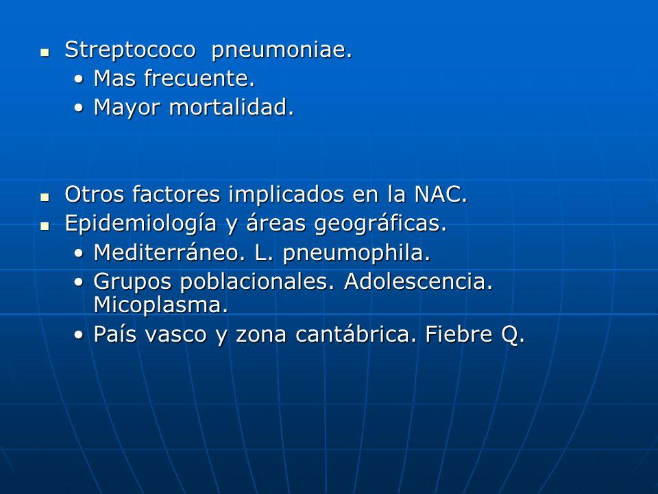 Streptococo pneumoniae.