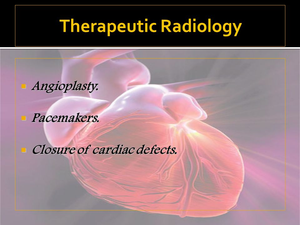 Therapeutic Radiology