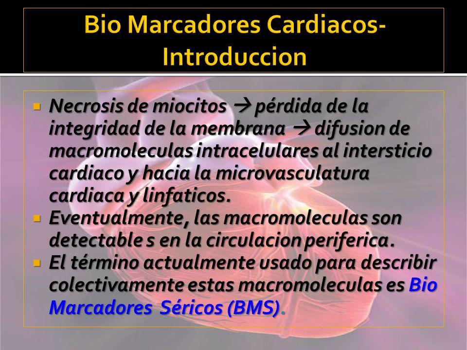 Bio Marcadores Cardiacos-Introduccion