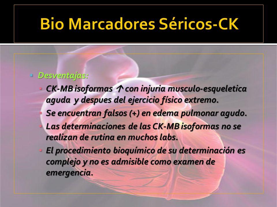 Bio Marcadores Séricos-CK