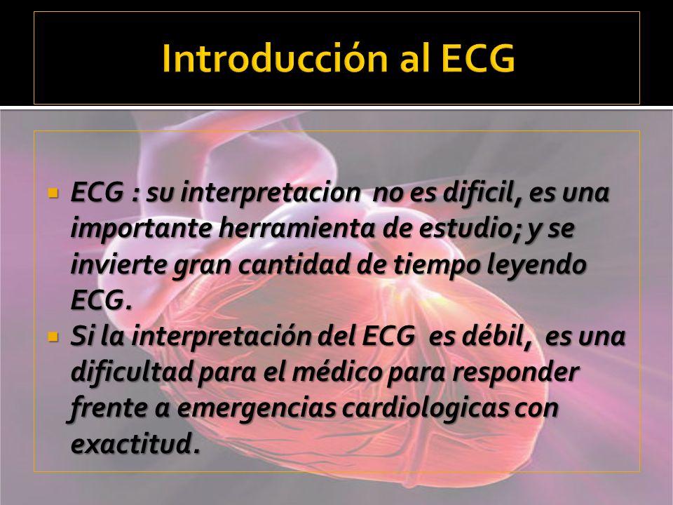 Introducción al ECG
