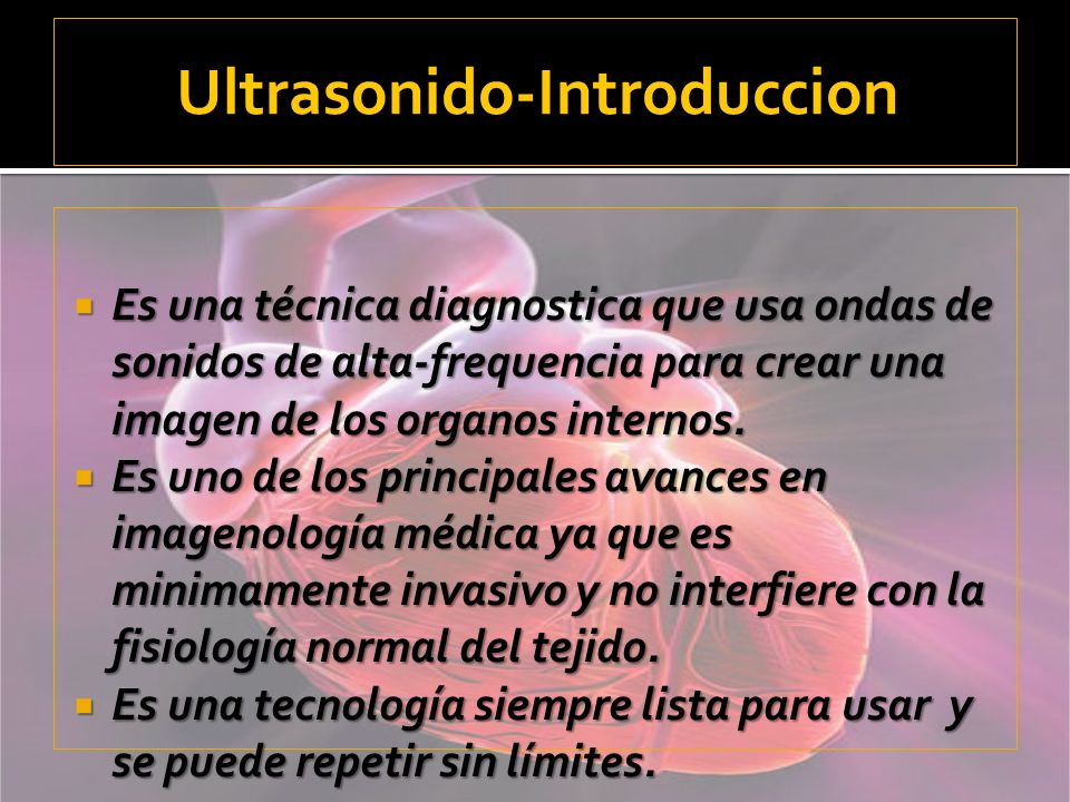 Ultrasonido-Introduccion