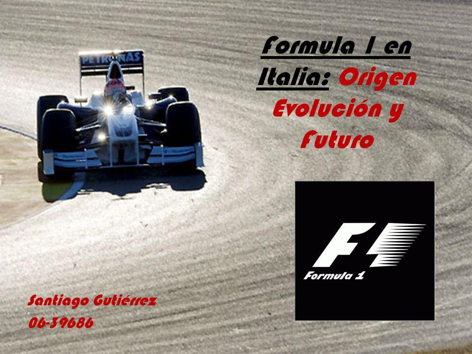 Formula 1 en Italia: Origen Evolución y Futuro