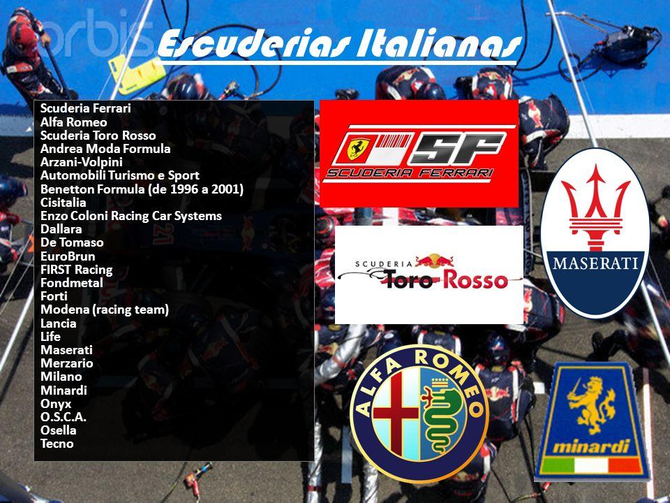Escuderias Italianas
