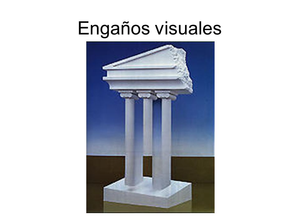 Engaños visuales