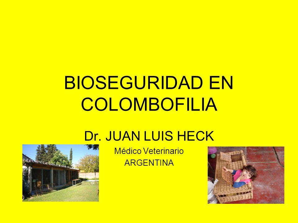 BIOSEGURIDAD EN COLOMBOFILIA